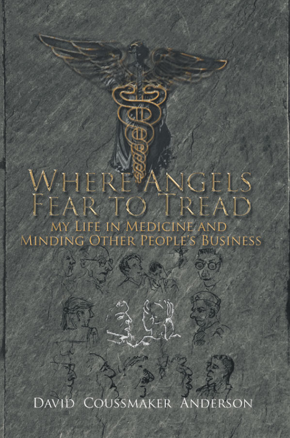 Where Angels Fear to Tread - My Life in Medicine and Minding Other People's Business by David Coussmaker Anderson